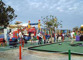 Childrens' Fun Park on the seafront at Fuengirola