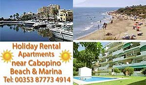 Costa del Sol holiday apartments to rent